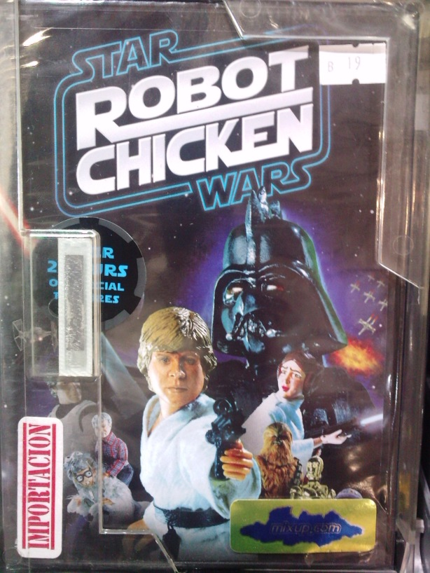 Robot Chicken edición Star Wars